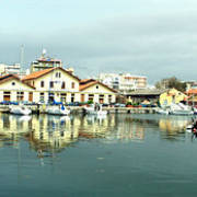 Customs building at the port of Alexandroupoli.