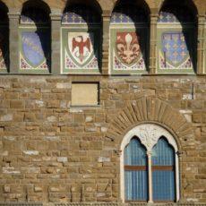 Firenze, scorcio di Palazzo Vecchio.