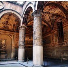 Firenze, ingresso di Palazzo Vecchio.