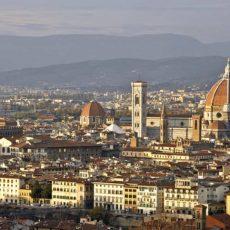 Firenze, panorama del centro storico da Piazzale Michelangelo.