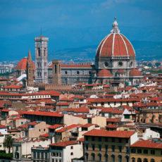 Firenze, panoramica del Duomo.
