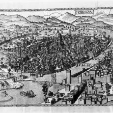 Firenze, antica mappa.