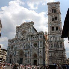 Firenze, Duomo e Campanile di Giotto.