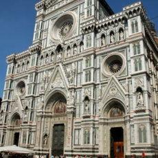 Firenze, facciata del Duomo.