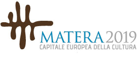Logo Matera Capitale Europea della Cultura 2019.