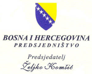 Logo President of Bosnia and Herzegovina.