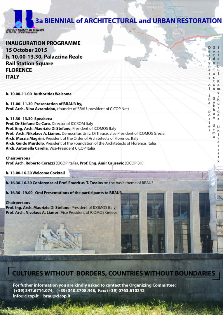 BRAU3 Inauguration Programme.