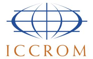 Logo ICCROM.
