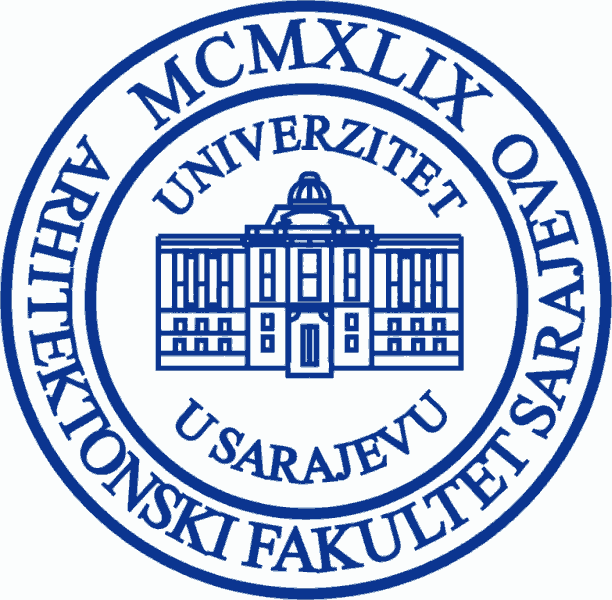 Logo Sarajevo University Faculty of Architecture.