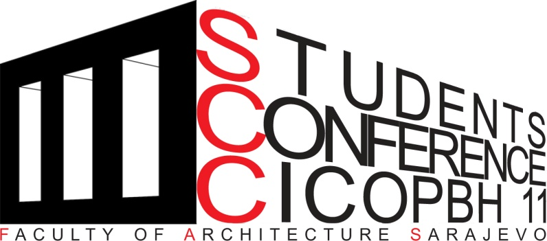 Logo of Students Conference CICOPBH11.