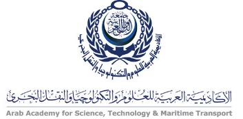 Logo Arab Academy for Science, Technology & Maritime Transport - Architectural department.