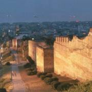 Castle Walls, Thessaloniki.