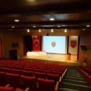 Congress Hall, Kemerburgaz University, Istanbul.