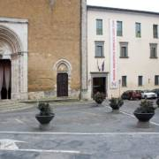 Ingresso Biblioteca Luigi Fumi, Orvieto.