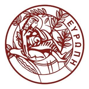 Logo University of Crete.
