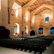 Salone interno Palazzo del Popolo, Orvieto.