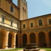 Corte interna Biblioteca Luigi Fumi, Orvieto.