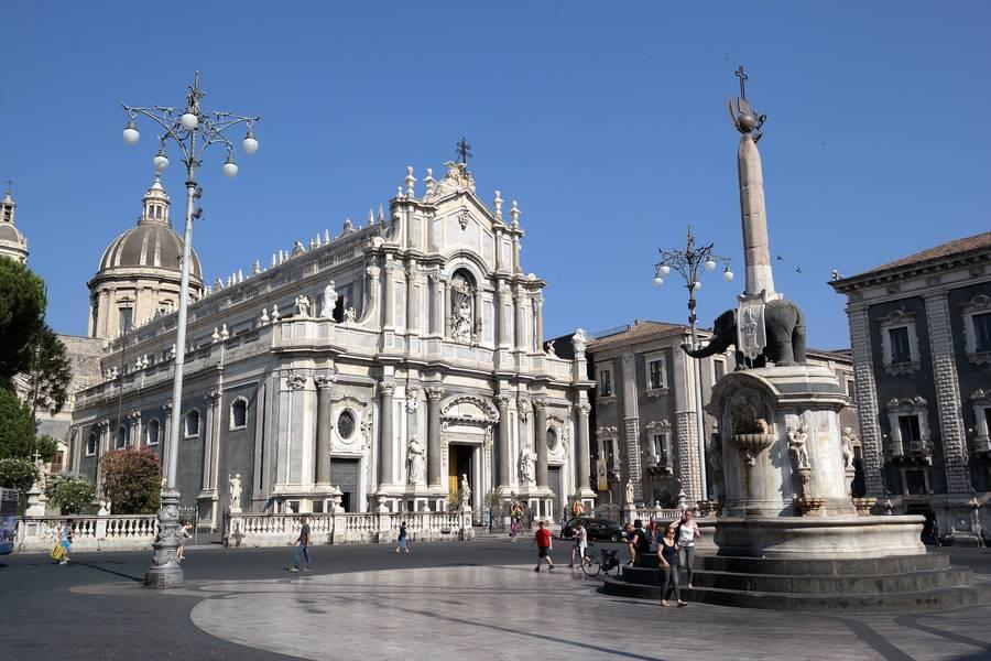 Piazza Duomo, Catania.