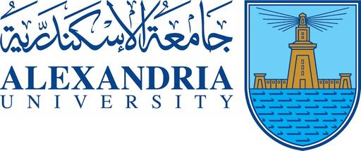 Logo Alexandria University.