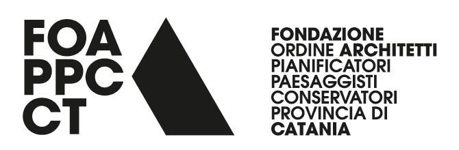 Logo Fondazione Ordine Architetti Catania.
