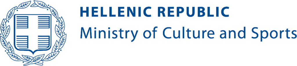 Logo Hellenic Ministry of Culture.