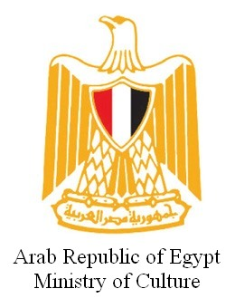 Logo Egyptian Ministry of Culture.