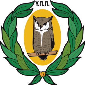 Logo of Ministry of Education and Culture, Cyprus.