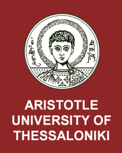 Logo Aristotle University of Thessaloniki.