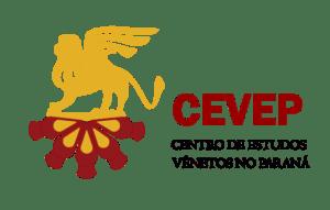 Logo Centro de Estudos Vênetos no Paranà (CEVEP).