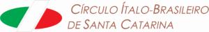 Logo Círculo Ítalo Brasileiro de Santa Catarina (CIB).