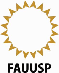 Logo Faculdade de Arquitetura e Urbanismo da Universidade de São Paulo (FAUUSP).