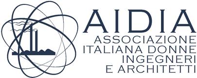 Logo Associazione Italiana Donne Ingegneri e Architetti (AIDIA).