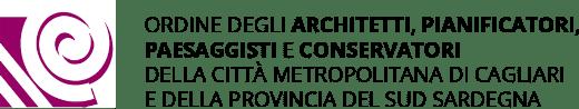 Logo Ordine Architetti Cagliari.