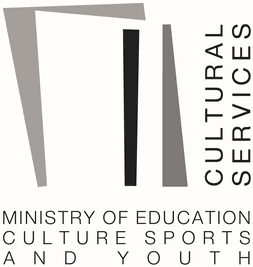 Logo Cultural Services of the Ministry of Education Culture Sports and Youth Cyprus.