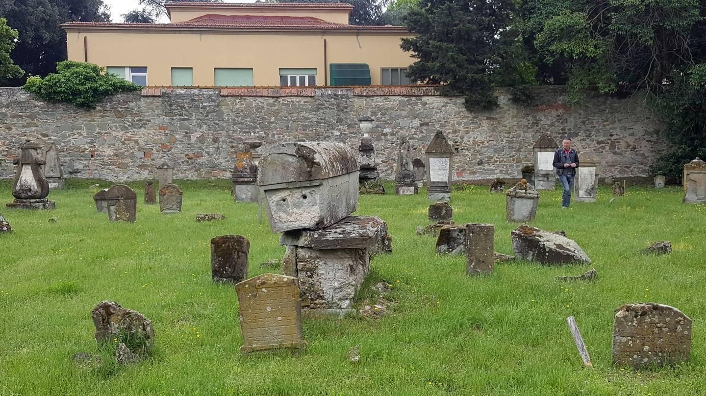 MMC3 Visit to Monumental Ebraic Cimitery, Florence