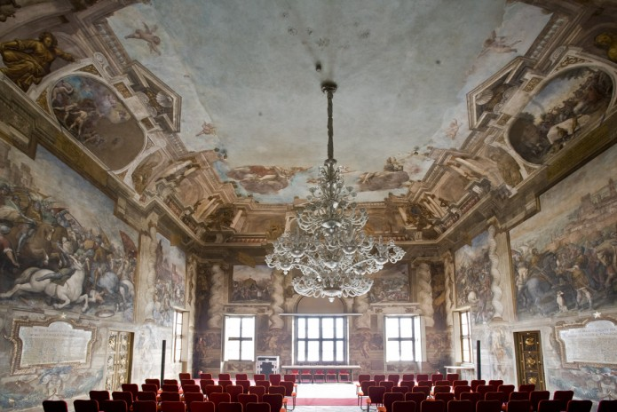 Castello del Valentino (Torino), Salone d'Onore del Politecnico.