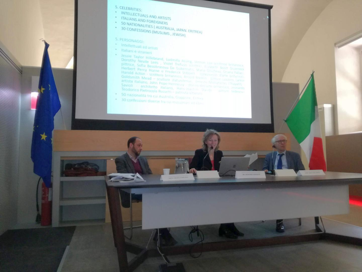 MMC3 Conferences at Oblate Library, Florence