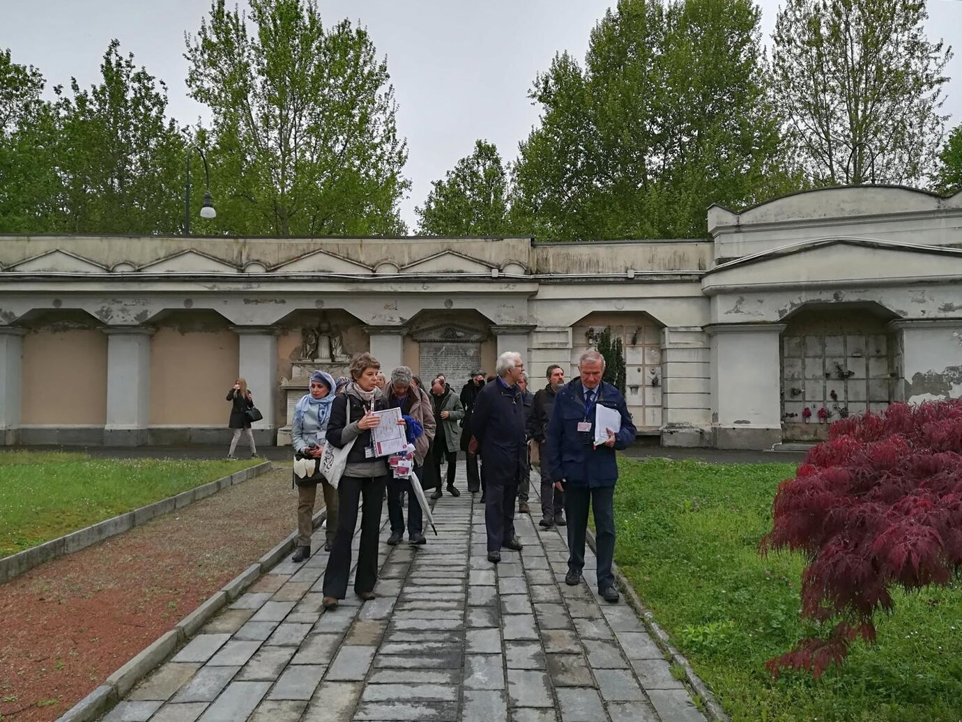 MMC3 Visit to Monumental Cimitery of Turin