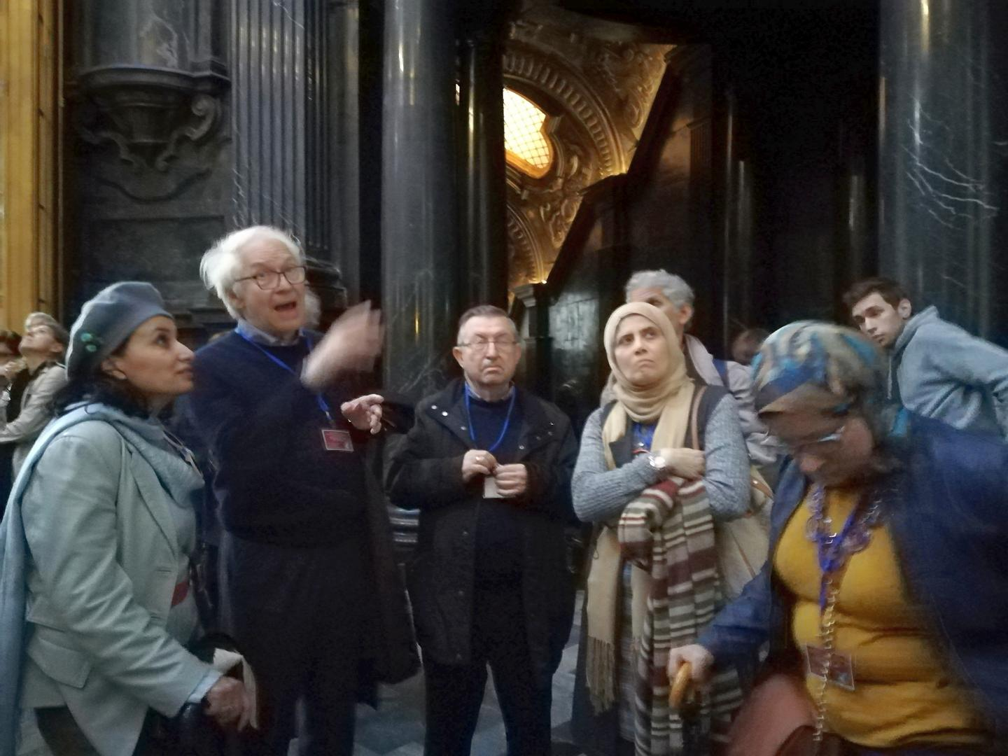 MMC3 Visit to the Chapel of the Holy Shroud, Turin