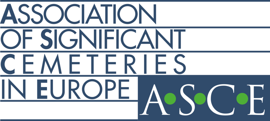 Logo Association of Significant Cemeteries in Europe (ASCE).