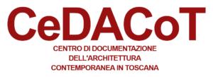 Logo CeDACoT (Centro di Documentazione sull'Architettura Contemporanea in Toscana).