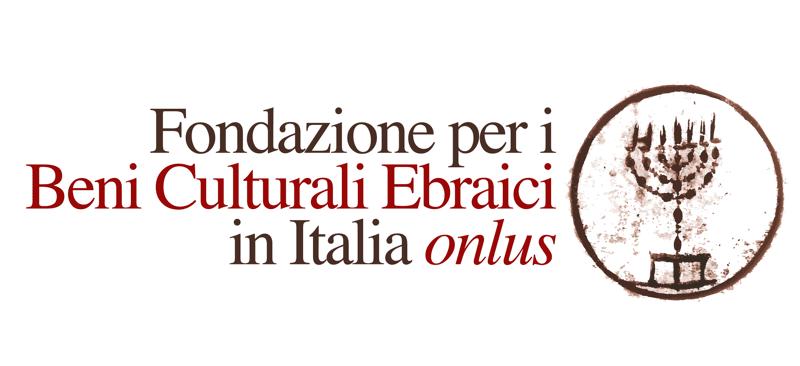 Logo Fondazione per i Beni Culturali Ebraici in Italia ONLUS.