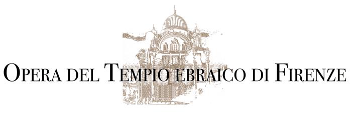 Logo Opera del Tempio Ebraico di Firenze.