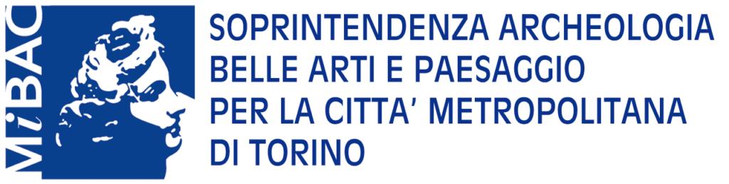 Logo Soprintendenza archeologia, belle arti e paesaggio Torino.