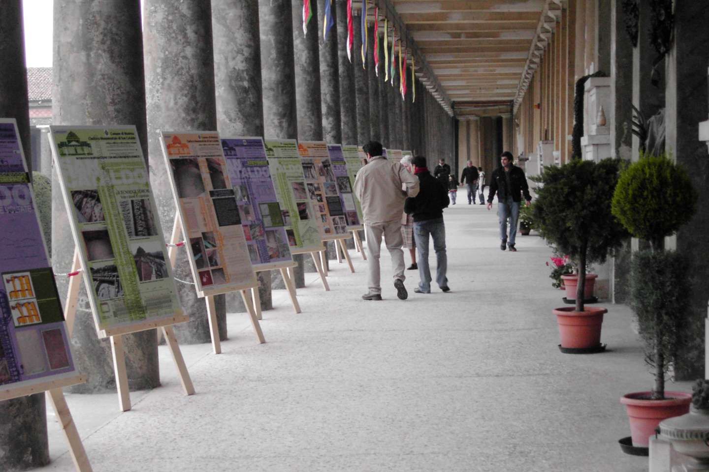 Poster exhibition at 1st International Conference on Monumental Cemeteries, Modena 2006